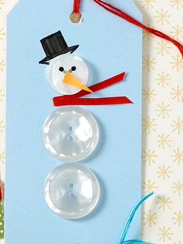 Button-Snowman-Xmas-Tag